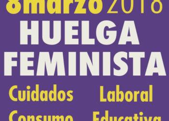 ¡Basta ya, igualdad real, huelga general feminista!
