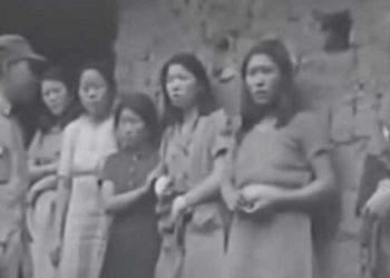 Un vídeo evidencia la masacre de esclavas sexuales coreanas a manos de militares japoneses