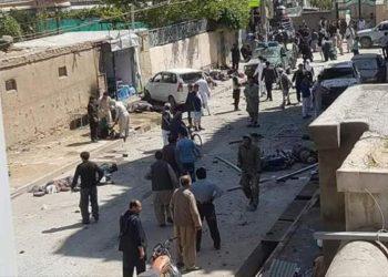 Atentado suicida en un centro de votación en Kabul deja al menos 48 muertos