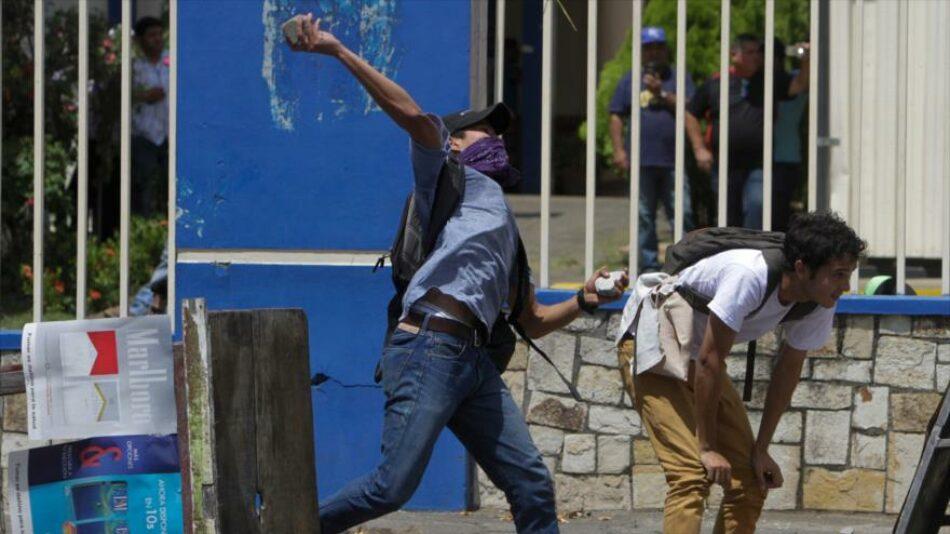Al menos 10 muertos en las protestas de Nicaragua contra la reforma del sistema de pensiones