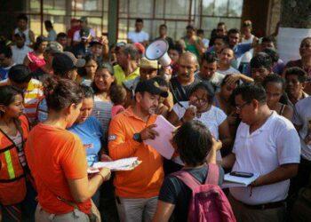 """Frontera México-EEUU. El gobierno mexicano colabora en el """"fichaje"""" de migrantes"""