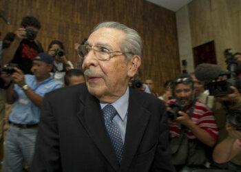 Muere sin pisar la cárcel el dictador guatemalteco Ríos Montt, juzgado por genocidio