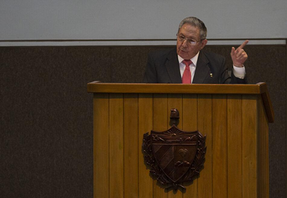 Discurso de despedida de Raúl Castro como presidente: `Nuestra arma más importante, la unidad del pueblo´