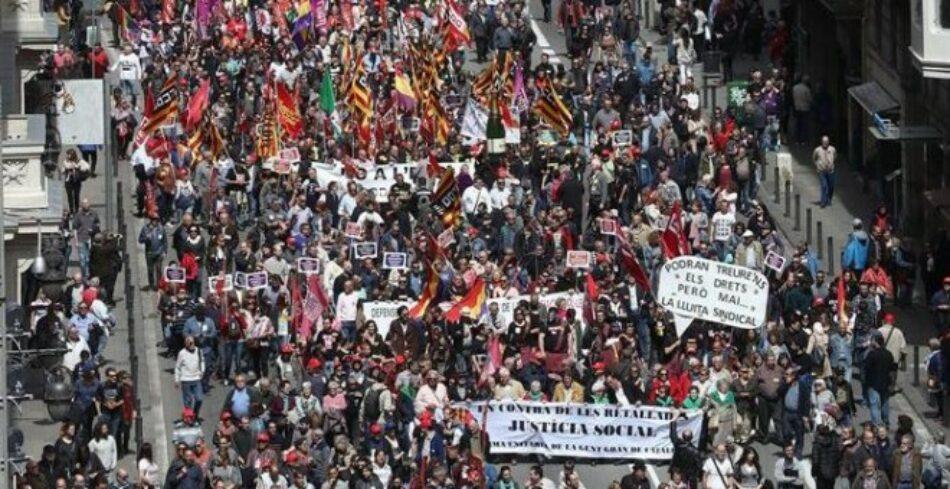 Les lluites dels pensionistes, de les dones i de les persones migrades són de totes: ens mobilitzem pel Dia Internacional del Treball!