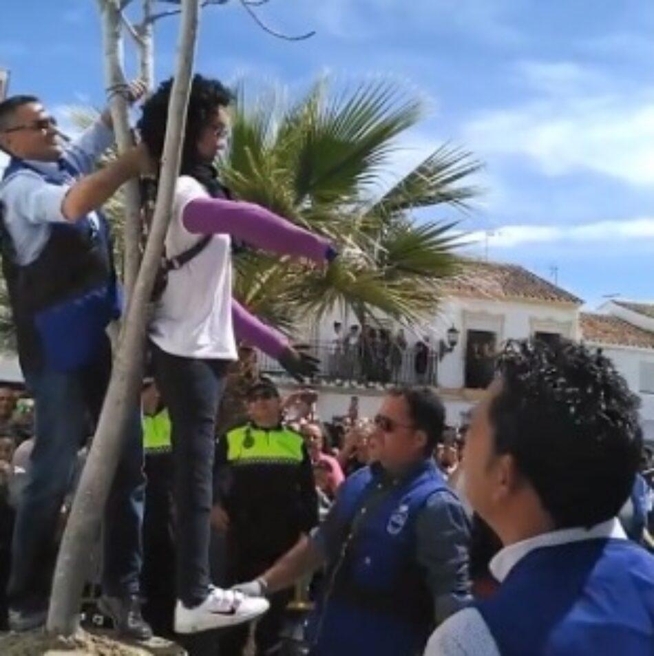Movimiento contra la Intolerancia denuncia en la Fiscalía de Delitos de Odio ante «el linchamiento de una muñeca representativa de Ana Julia», asesina confesa de Gabriel