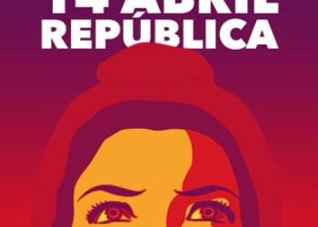 Manifestación 14 de Abril por la República en Madrid