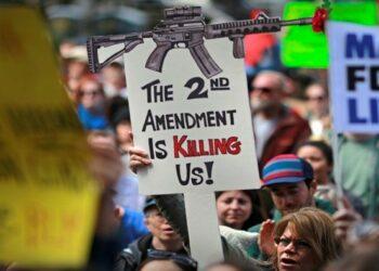Más de mil personas murieron en la última década por incidentes con armas en EEUU