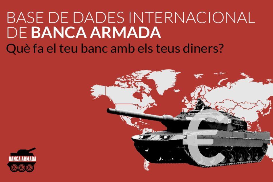 Denuncian inversión de Bankia en la industria militar: más de 180 millones de euros invertidos en empresas militares relacionadas con guerras