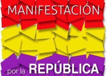 Manifestación por la República en Jerez, el 14 de abril