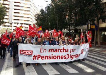 Sindicatos y plataformas llaman a una serie de movilizaciones en defensa de las pensiones en todo el estado