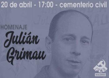Homenaje a Julián Grimau en el 55 aniversario de su asesinato por la dictadura Franquista