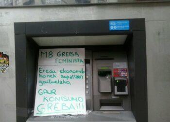 El PNV al frente del Ayuntamiento de Vitoria Gasteiz multa al Sindicato de Estudiantes por pegar carteles de la huelga feminista del 8M