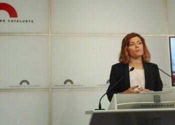 """Elisenda Alamany: """"Davant la involució democràtica del PP cal caminar cap a una investidura efectiva"""""""