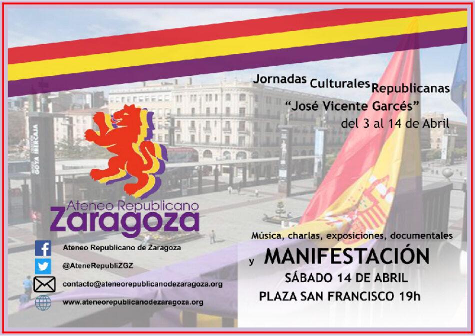 Jornadas Culturales Republicanas «José Vicente Garcés»