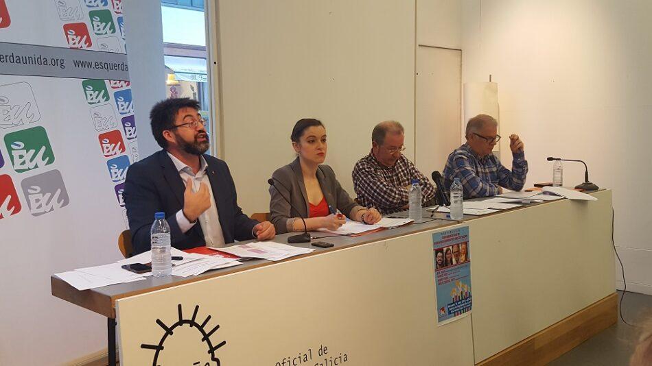 Carlos Sánchez Mato, Eva Solla, Manuel Lago e Albino Prada debaten na Coruña sobre un modelo de financiación que asegure un sistema de pensións sostible
