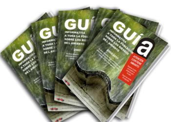 Presentación de la Guía Informativa a toda la población sobre los Riesgos del Amianto