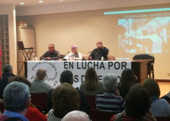 El Colectivo «Pensionistas Complutenses» se presenta en un acto con lleno total