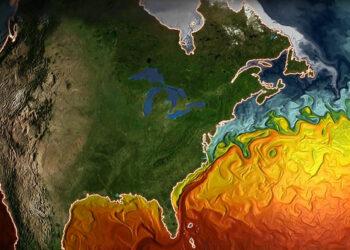 La circulación meridiana del Atlántico disminuye un 15%