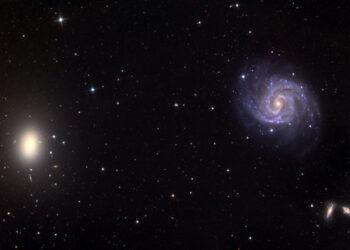 La extraña galaxia sin materia oscura