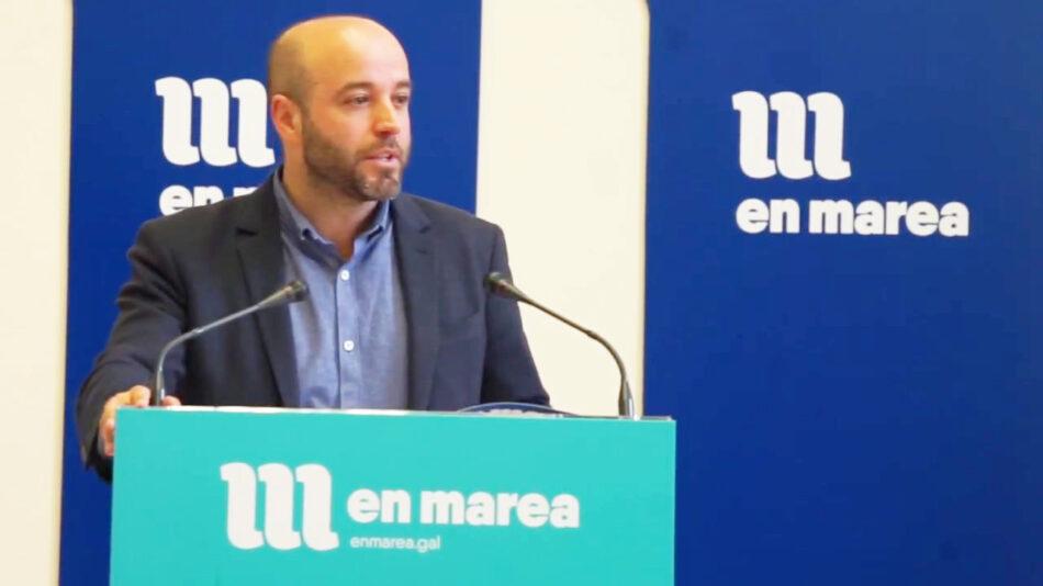 """En Marea pide explicacións a Núñez Feijóo pola falla de execución de 132 millóns de euros en políticas de emprego pese a """"traxedia laboral"""" que vive Galicia"""