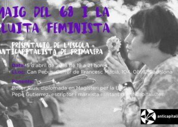 Anticapitalistes organitza a Badalona un acte sobre el Maig del 68 i la lluita feminista