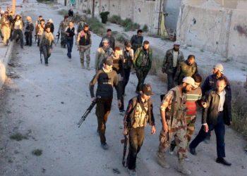 Los problemas de los militantes del Yaish al Islam en Afrin