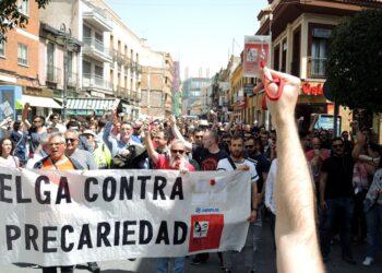 Crónica de la huelga de las subcontratas de Airbus Getafe