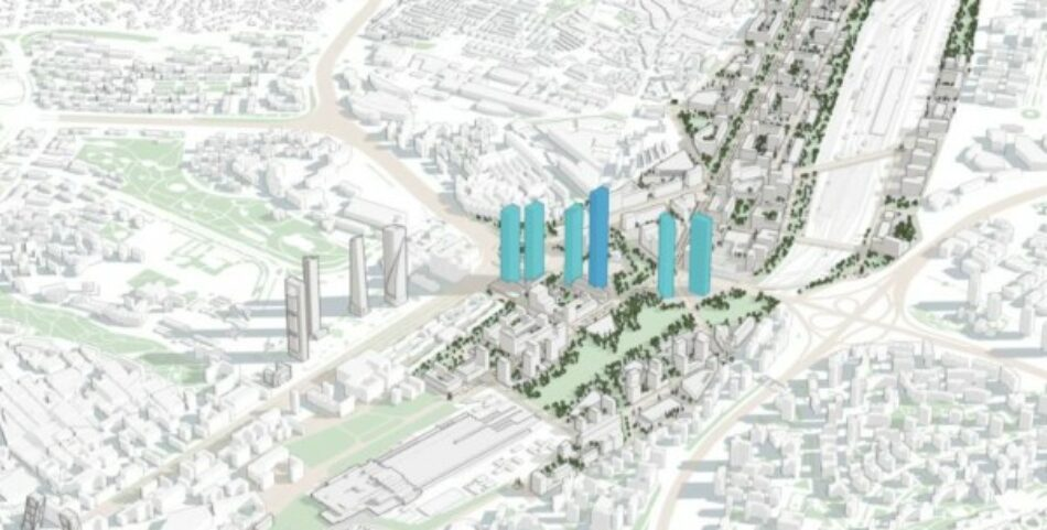 Izquierda Unida continúa apostando por una alternativa política al modelo urbanístico de la Operación Chamartín