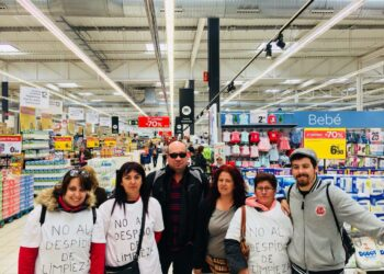 Izquierda Unida denuncia el despido de las trabajadoras de limpieza de Carrefour de Leganés