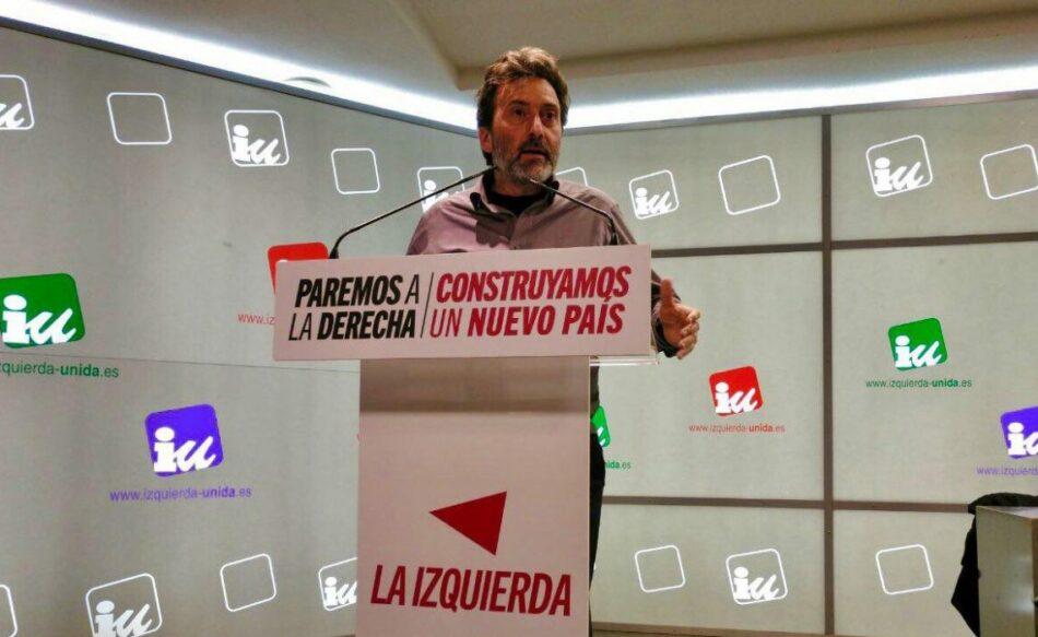 IU Madrid: «Es tiempo de audacia. El recambio de piezas en un entramado neoliberal no soluciona los problemas de la Comunidad de Madrid»