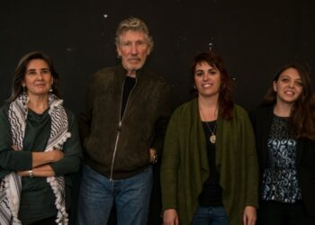 Roger Waters: «cada día hay gente nueva sumándose a la campaña de BDS. Funcionó contra el apartheid en Sudáfrica y funcionará contra la ocupación ilegal israelí de Palestina»