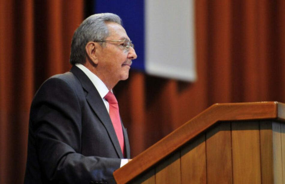 """Cuba. Raúl Castro: """"La Revolución es la obra más hermosa que hemos hecho"""""""