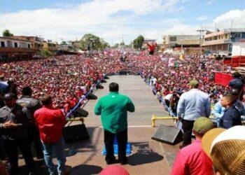 Chavismo tomará Caracas en cierre de campaña de Nicolás Maduro