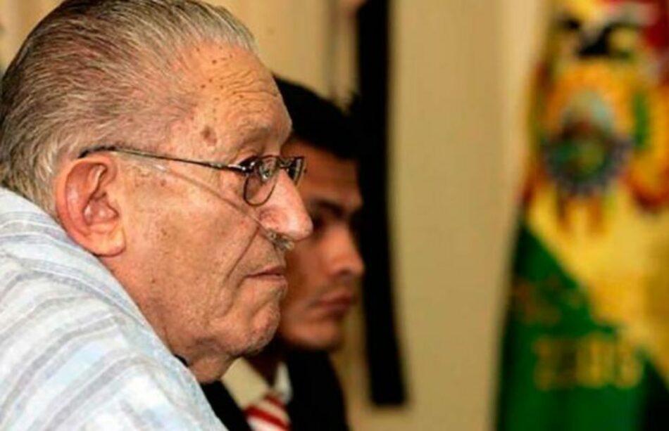 Bolivia. Dictador García Meza dejó una deuda con el pueblo, aseguran autoridades