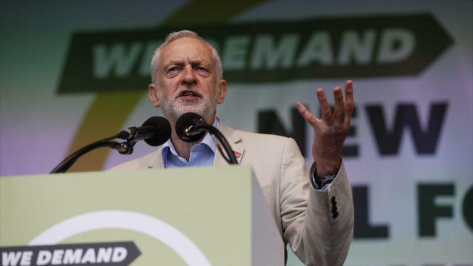 Corbyn pide dura respuesta a represión de palestinos por Israel