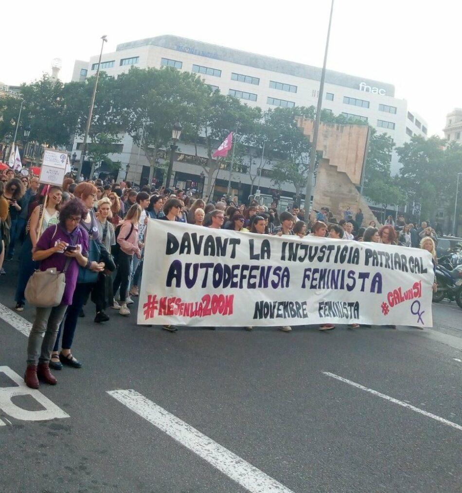 Colectivos feministas, plataformas y partidos califican el incremento del presupuesto para violencia de género como insuficiente