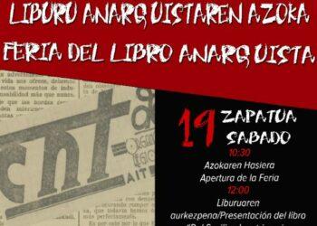 19 y 20 de mayo, Feria del Libro Anarquista en Bilbao