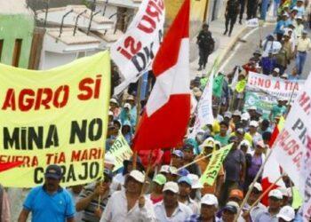 Perú. Defensoría del Pueblo registra 196 conflictos ambientales en el país