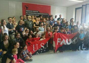 Finalizado el Congreso y aprobados los estatutos, se funda en Parma la Confederación Internacional del Trabajo (CIT)