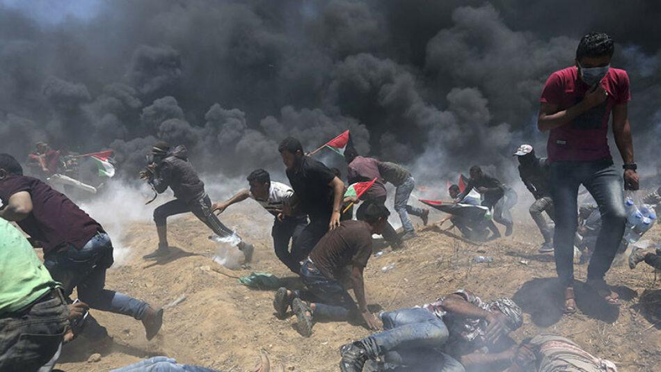 Al menos 38 muertos y unos 1.700 heridos durante enfrentamientos en la frontera entre Gaza e Israel