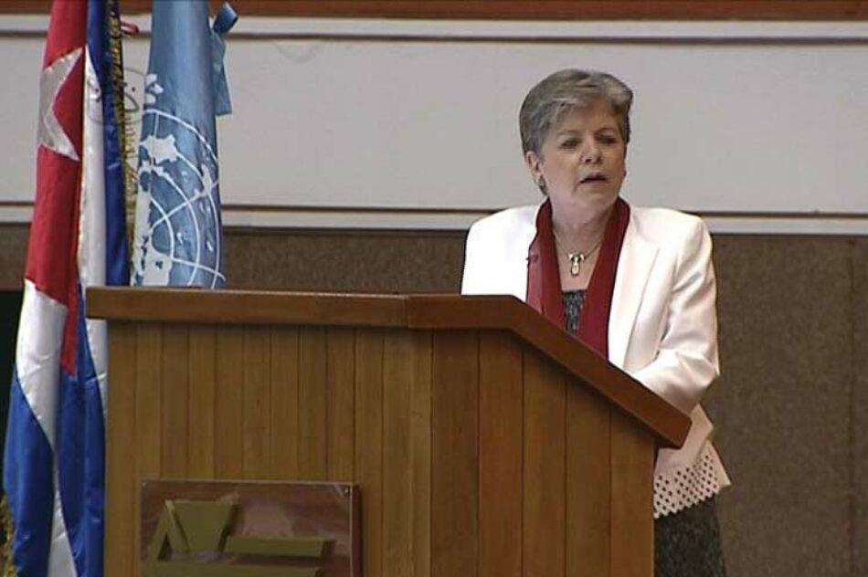 Cuba asume presidencia de la Cepal