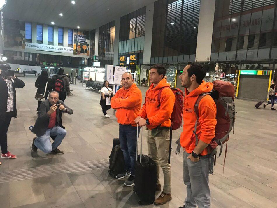 Participa Sevilla y Podemos Andalucía acompañarán a los bomberos Sevillanos en Lesbos