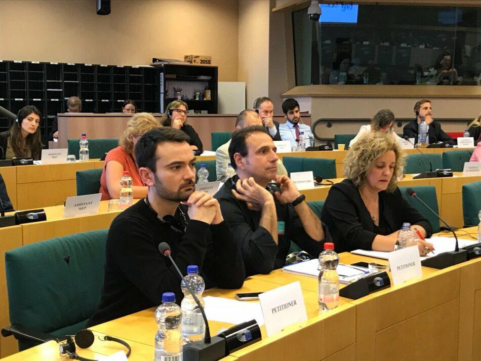 El Parlamento Europeo pedirá explicaciones por escrito al Gobierno sobre la manipulación y la censura en RTVE