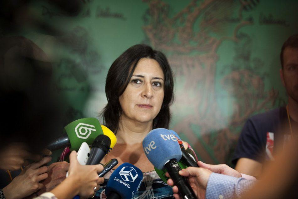 """Esquerra Unida (EUPV) muestra su """"satisfacción"""" porque el 'caso Taula' abierto a raíz de sus denuncias derive en la 'Operación Erial' que ha atrapado a Zaplana"""