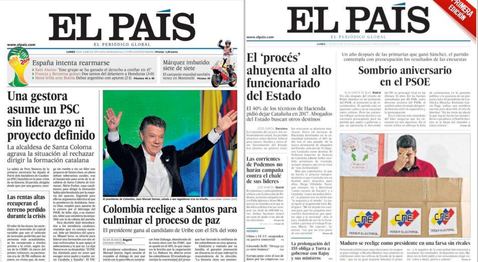 El descarado doble rasero sobre la participación electoral en las últimas presidenciales de Colombia y Venezuela