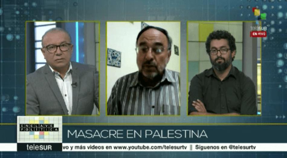 Especialista: En Palestina muere el derecho internacional