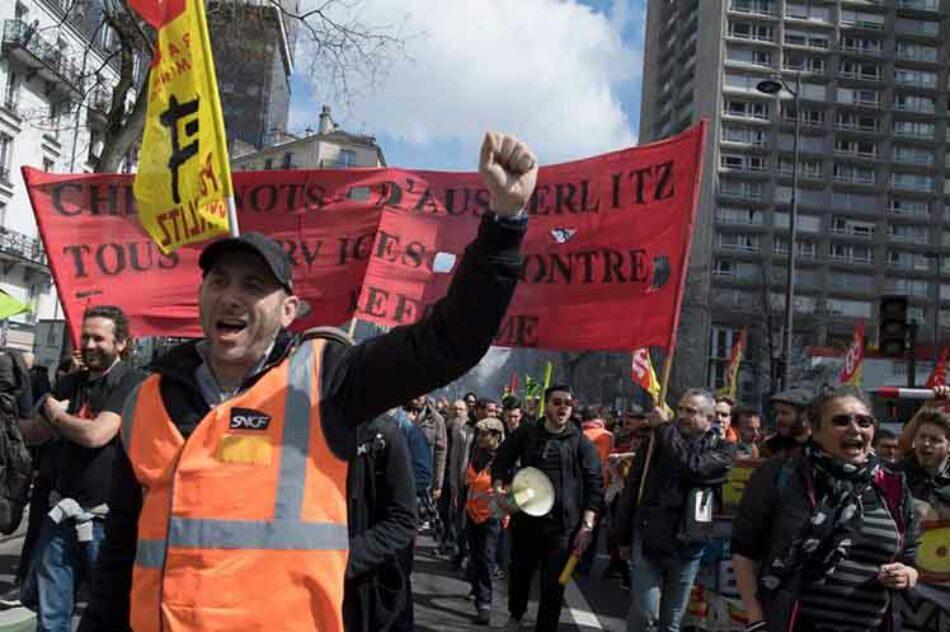 Ferroviarios convocados a manifestarse contra reforma en Francia