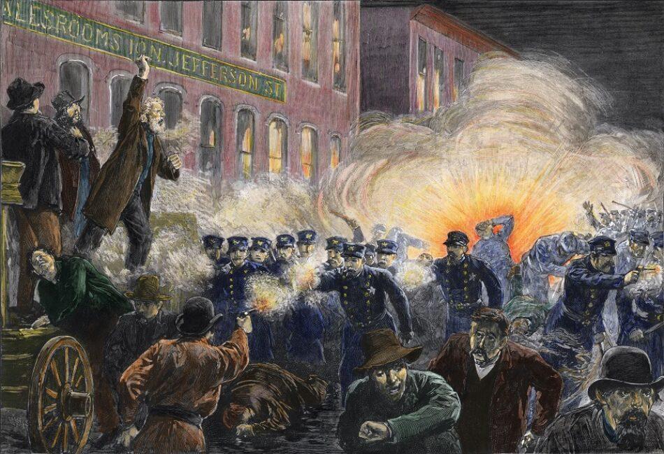 El 1 de mayo, la revuelta de Haymarket y los Mártires de Chicago