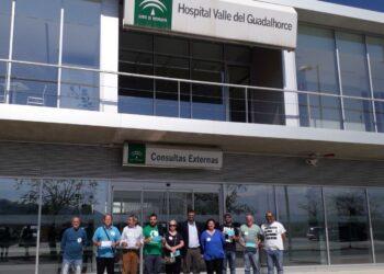 Podemos Andalucía no ve predisposición en la dirección del Hospital del Guadalhorce en abrir completamente en 2019