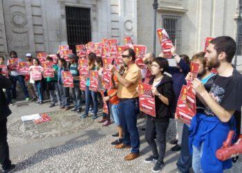Comienza la huelga del profesorado Ayudante y Contratado Doctor interino de la Universidad de Sevilla